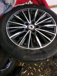 knight rims and tires set Edmonton, T6E 1W1