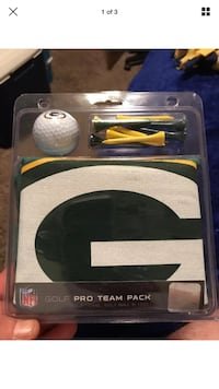 NFL Green Bay Packers  McArther Golf Pro Team Pack