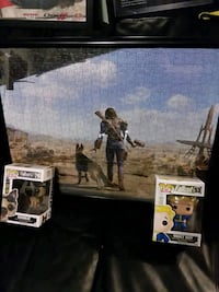Fallout puzzle and figure lot Troutman, 28166