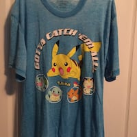 Blue Pokémon shirt