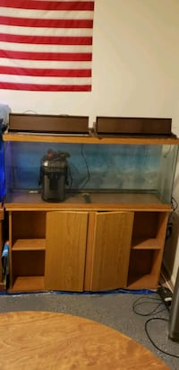100 gal fish tank and stand Sterling, 20164