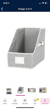 Sweater Bins - Better Homes & Gardens Fabric Storage