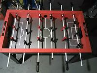 red and black foosball table Edmonton, T6A 2C1