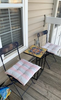 Outdoor table & chair(2) Herndon, 20171