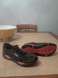 pair of black-and-red Nike sneakers Palm Bay, 32909