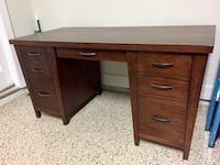 Ethan Allen Working Desk (Brown) No Chair Available Apopka, 32712