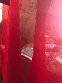 Red sheer 2 very nice curtains Chevy Chase, 20815
