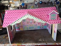 pink and white plastic dollhouse San Diego, 92111