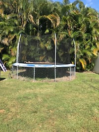 FREE trampoline. Take as is  Come pick it up.