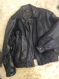 Banana Republic Leather Bomber Jacket Size 42 Fairfax, 22031