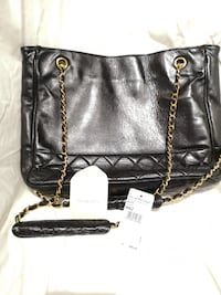 Chanel Vintage Quilted Shopping Tote TORONTO
