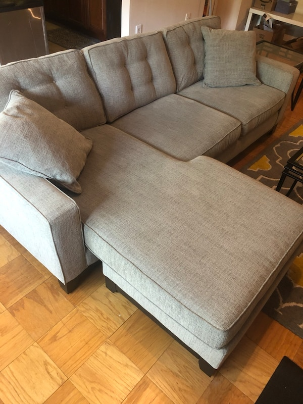 Macy's sectional couch (chaise reversible)