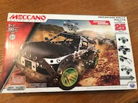 Meccano Motorized Mountain Rally Vehicle Building Toy Play Set Cypress, 90630