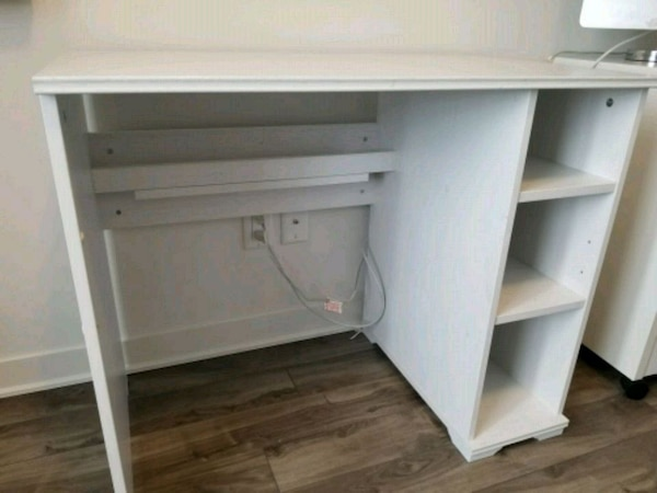 Used bureau ikea blanc for sale in saint jérôme letgo