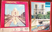 PUZZLES DEL TAJ MAHAL, INDIA Y NOTRE DAME, PARIS Madrid