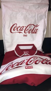 Kith x Coca Cola 2018 rugby shirt XS Los Angeles, 90036