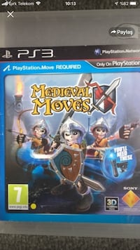 Medıeval moves,3D Ps3 Move oyun Osmangazi, 16090