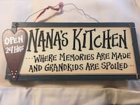 Nana's Kitchen plaque Baltimore, 21220