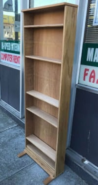 "#30550 Oak 6"" x 72"" x 24"" Wide CD shelf Oakland, 94610"