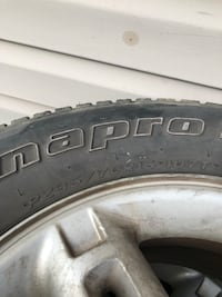 Tires and rims from Ford Explorer 235/70R16 Martinsburg, 25404