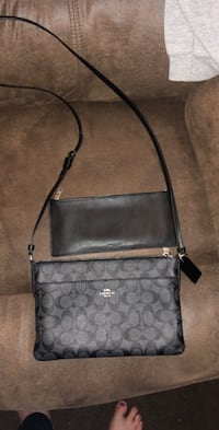 Small Black Coach Crossbody and pouch Sand Springs, 74063