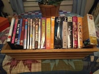 Assorted DVDs with wooden box Hagerstown, 21740