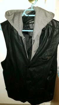 Leather Hoodie Vest Winnipeg, R2R 0E4