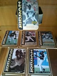Michael Jordan baseball trading cards must Go!
