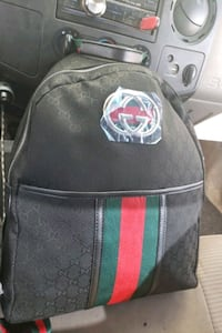 black and green Gucci backpack Omaha, 68107