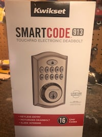 NEW Smartcode 913 by Kwikset touchpad deadbolt Oklahoma City, 73099