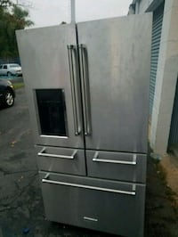 gray french-door refrigerator kitchenaid  Marlow Heights, 20748