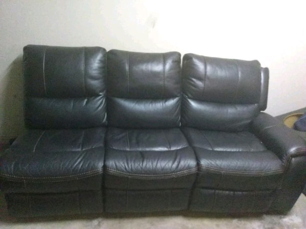 used leather recliner couch for sale in grand prairie letgo