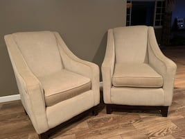 Accent chairs - priced individually