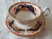 Antique 1900-1920 Elegant Royal Stafford (Thomas Poole) Tea Cup & Saucer For Sale! Ottawa