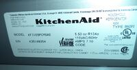 KITCHEN AID STAINLESS STEEL FRIDGE FOR SALE!  Toronto