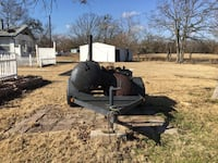 8 foot smoker on trailer, good shape, brand new tires, large firebox. $1750. Can't build it for that Dallas, 75202