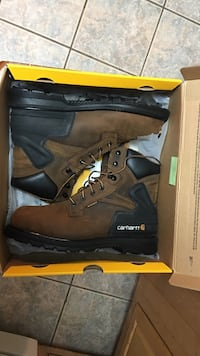brown-and-black work boots in box Robertsdale, 36567