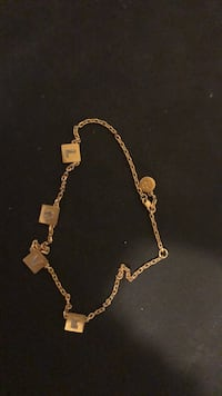 TORY BURCH Gold chain necklace with pendant Morrow, 30260