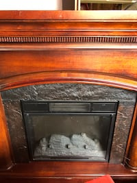 Working electric fireplace.  We bought a new one and no longer need this.  North Olmsted, 44070