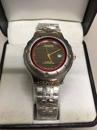 Pointer Swiss Solar Watch - Comes in original box with warranty and certification; never needs battery, waterproof 5 ATM. BRAND NEW! Industry, 91745
