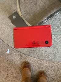 red Nintendo DS with charger Columbus, 43228