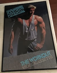 Dolph lundgren signed/autographed 1987 poster