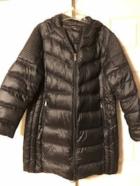 BCBGeneration Ultra Light Weight Hooded Packable Down Coat, Black, Size 2X Baltimore, 21236