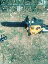 black and yellow Poulan chainsaw Bethesda, 20892