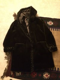 Women's Marvin Richards Faux Fur Size XL Dark Brown Vienna
