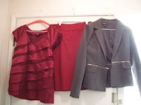 Blazer and Crop Blazer in one - $10 T1Y 3R5