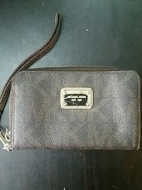 black leather Michael Kors wristlet Vancouver, V5Y 3V5