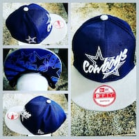 AUTHENTIC NFL FOOTBALL SNAPBACK HAT.  40 km