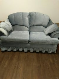 gray 2-seat rolled-arm sofa Saskatoon, S7L 6C6