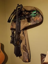 Hey I'm selling my cross Barnett Wildcat C6. Comes with case scope and 3 arrows Griffin, 30223